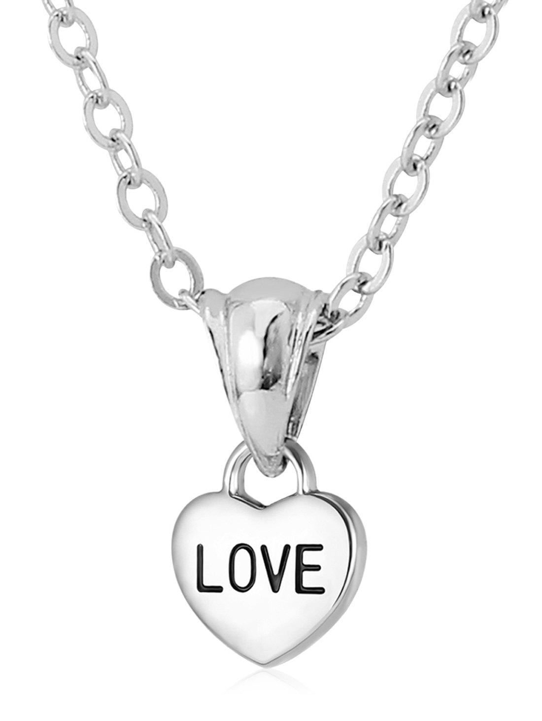 Best Stainless Steel Heart Designed Pendant Necklace