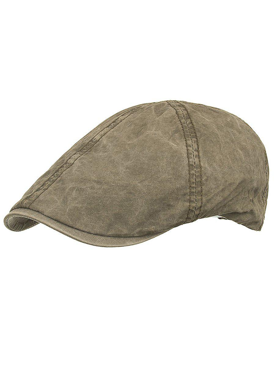 Unique Lightweight Washed Dyed Duckbill Hat