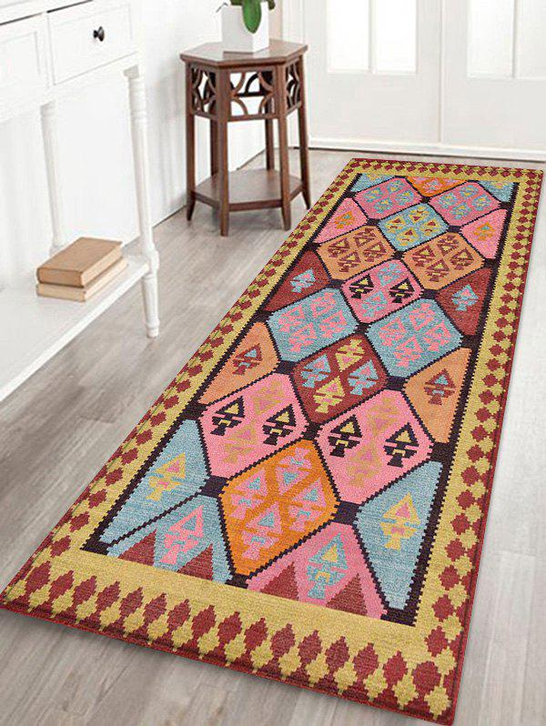 Unique Bohemian Geometric Print Floor Area Rug