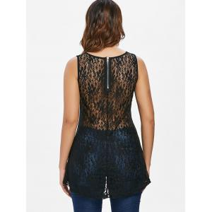 Rivet Lace Panel Tank Top -