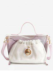 Jelly 2 Pieces Casual Beach Handbag Set -