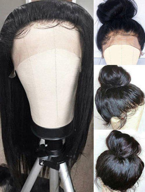 Outfit Long Side Bang Straight Lace Front Synthetic Wig