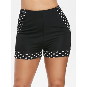 Polka Dot High Waisted Shorts -