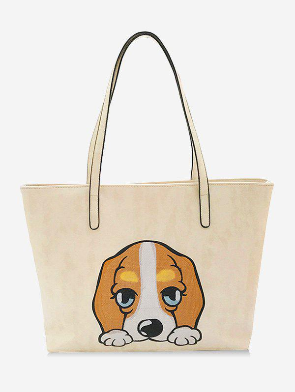 Latest Cartoon Embroidery Leisure Shopping Bag