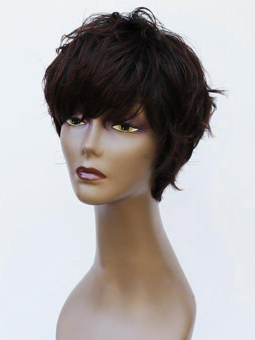 Trendy Short Side Bang Natural Straight Synthetic Wig