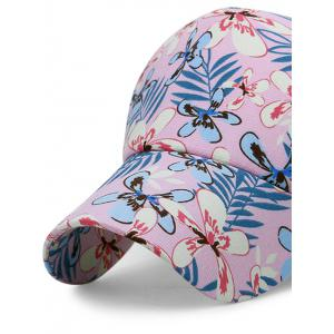 Flourishing Floral Mesh Sunscreen Hat -