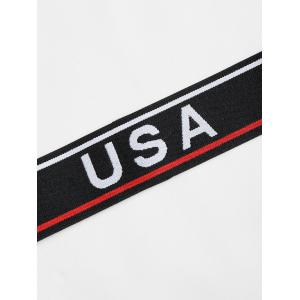 USA Graphic Athletic Workout Sweat Headband -