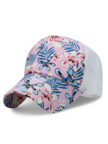 Shops Flourishing Floral Mesh Sunscreen Hat