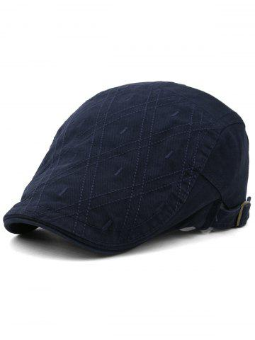 Chic Rhombus Embroidery Adjustable Jeff Hat