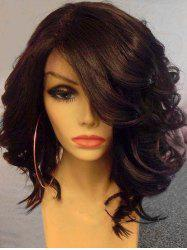 Medium Side Bang Wavy Heat Resistant Synthetic Wig -