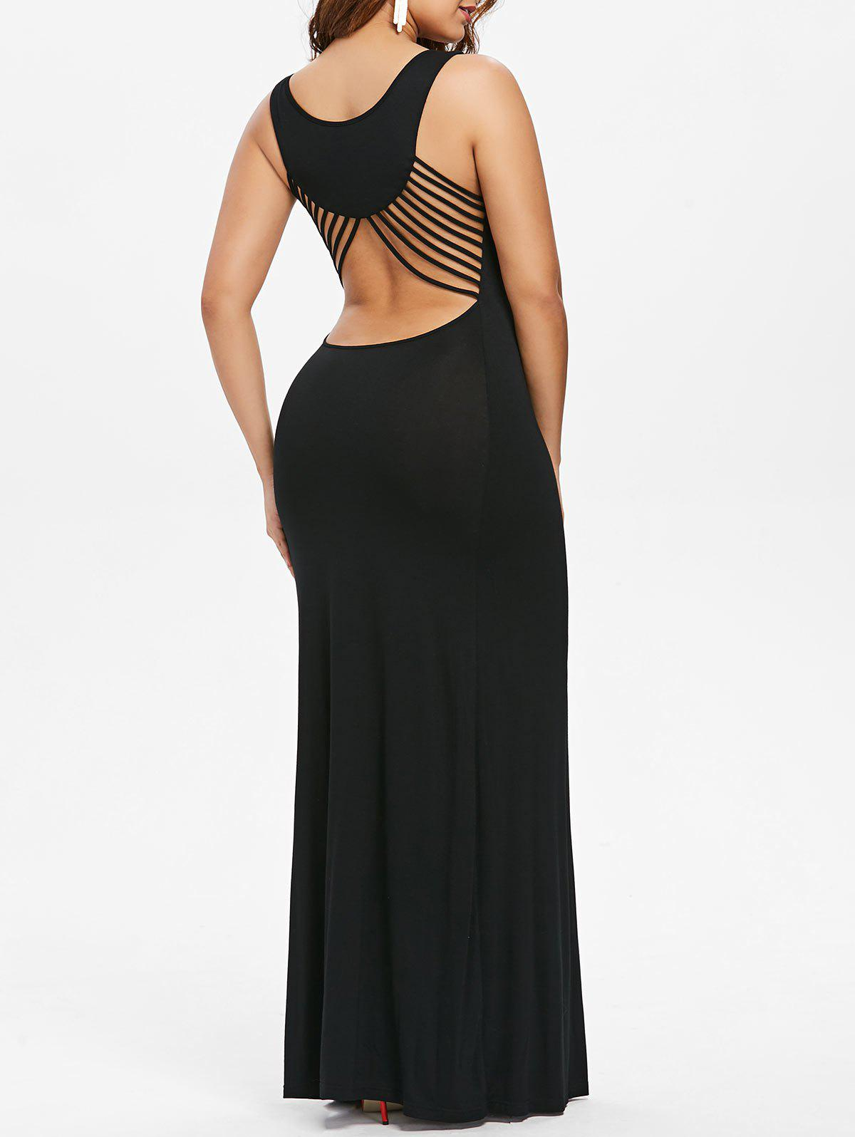 Shops Cut Out Strappy Long Party Dress