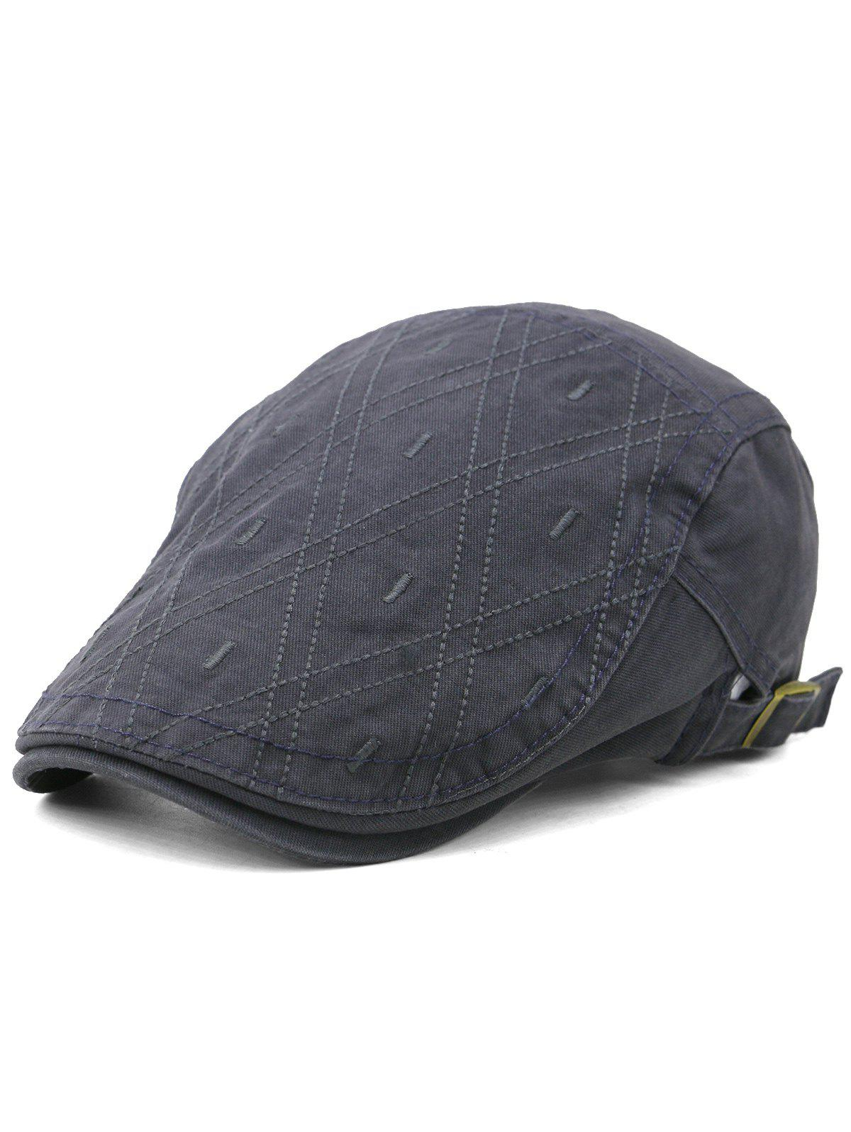 Hot Rhombus Embroidery Adjustable Jeff Hat