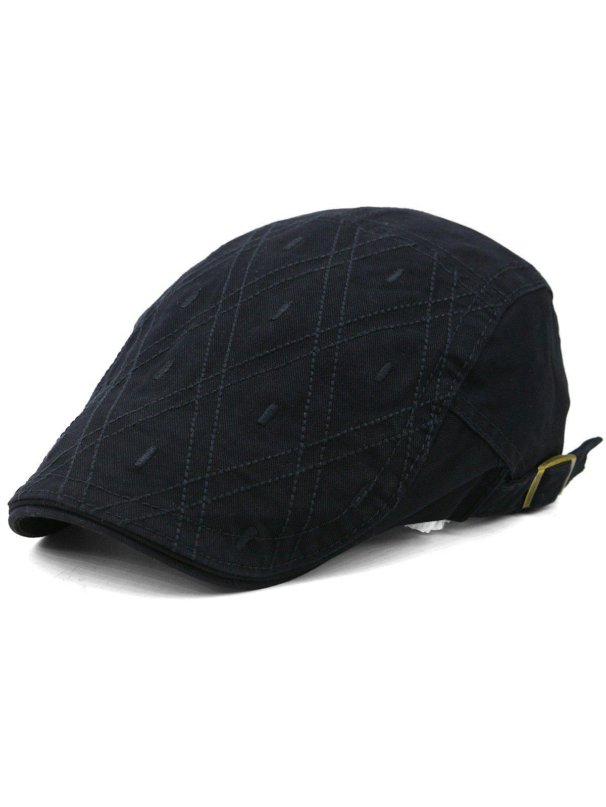 Buy Rhombus Embroidery Adjustable Jeff Hat