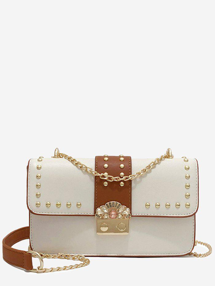 Affordable Vintage Rivet Mini Shoulder Bag