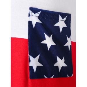 Pocket American Flag Tee -