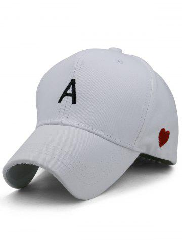 Discount Sweetheart Embroidery Adjustable Baseball Hat