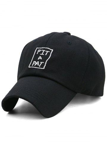 Cheap PIT A PAT Embroidery Adjustable Graphic Hat
