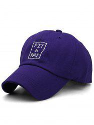 PIT A PAT Embroidery Adjustable Graphic Hat -