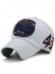 Outdoor Letter Numbers Pattern Baseball Hat -