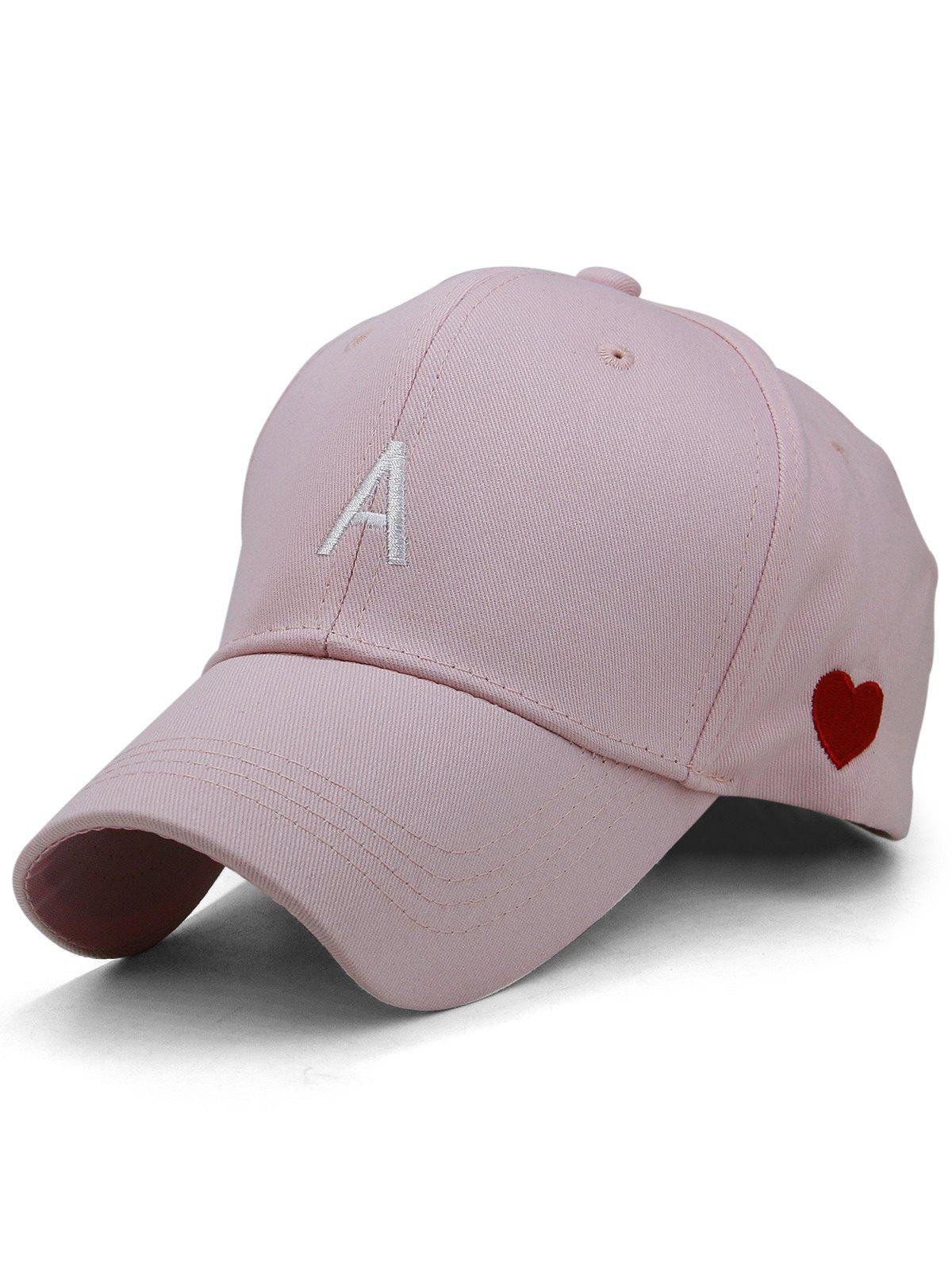 Unique Sweetheart Embroidery Adjustable Baseball Hat