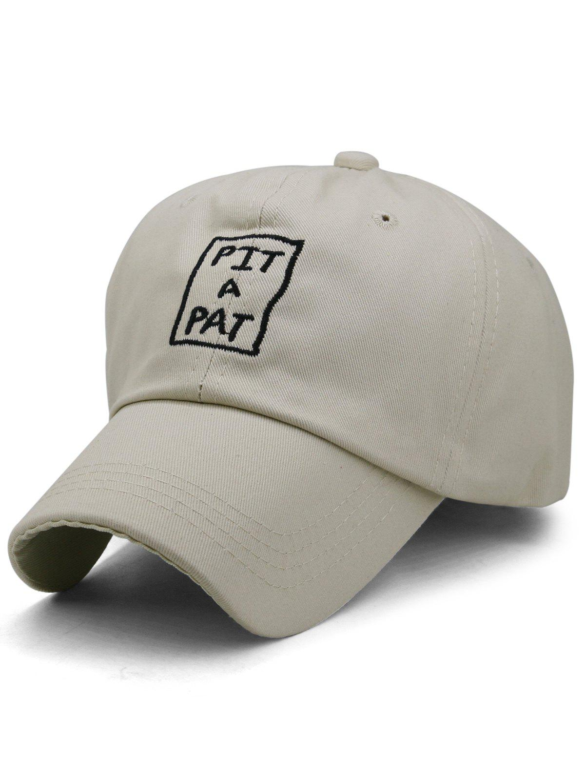 Sale PIT A PAT Embroidery Adjustable Graphic Hat
