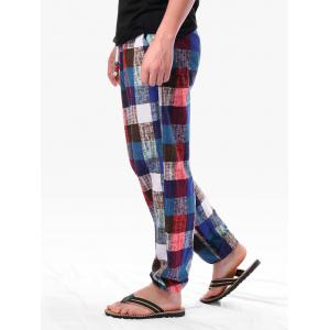Checkered Sweatpants -