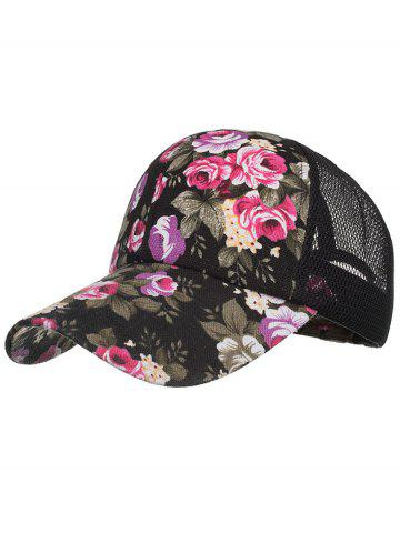Sale Flourishing Floral Decorative Graphic Hat