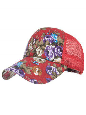 Fancy Flourishing Floral Decorative Graphic Hat