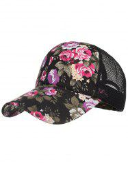 Flourishing Floral Decorative Graphic Hat -
