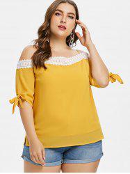 Plus Size Knotted Cami Top -