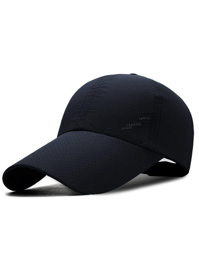 Cheap Unique Solid Color Long Bill Baseball Hat