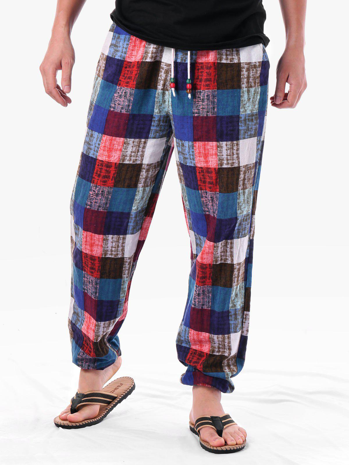 Affordable Checkered Sweatpants