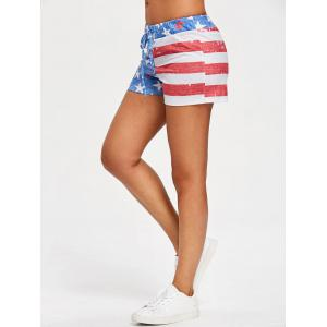 Patriotic American Flag Shorts -