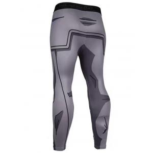 3D Printed Pattern Skinny Compression Tights Pants -