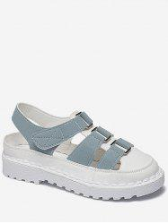 Round Toe Platform Fisherman Sandals -
