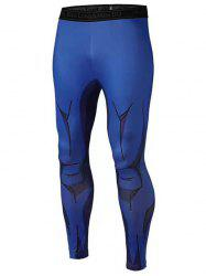 3D Muscle Printed Compression Tights Running Pants -