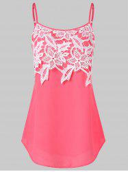 Lace Panel Slip Top -