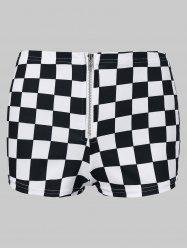 Mini Checked Shorts -