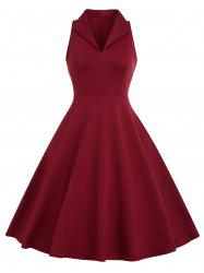 Vintage Fit and Flare Dress -