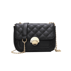 Flapped Quilted Chic Stitching Crossbody Bag -