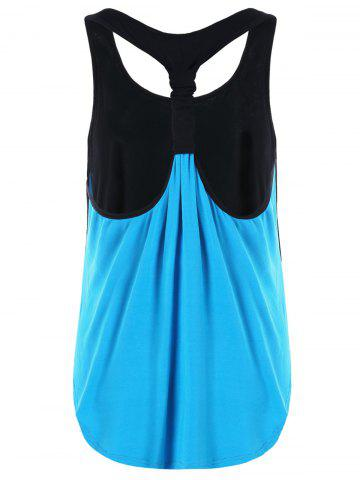Fancy Summer Two Tone Layered Tank Top