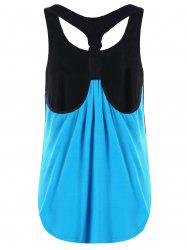 Summer Two Tone Layered Tank Top -
