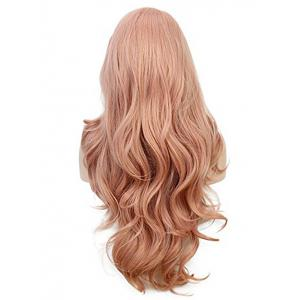 Long Side Parting Wavy Lace Front Party Synthetic Wig -