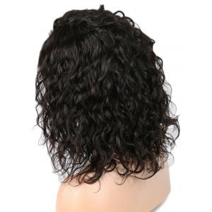 Medium Side Bang Natural Wavy Synhtetic Lace Front Wig -