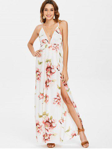 White Floral Maxi Dress Free Shipping Discount And Cheap Sale