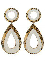 Water Drop Decorative Party Wedding Dangle Drop Earrings -