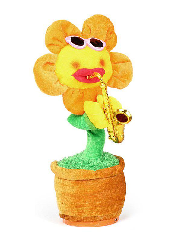 Affordable Singing Dancing Music Simulation Electric Bluetooth Sunflower Plush Toy