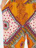 Ethnic Print Harem Trousers -