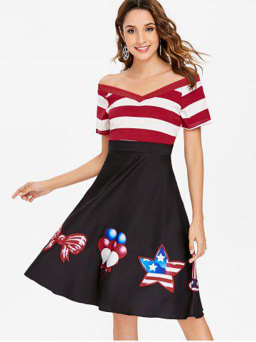 American Flag Dress Xl Free Shipping Discount And Cheap Sale