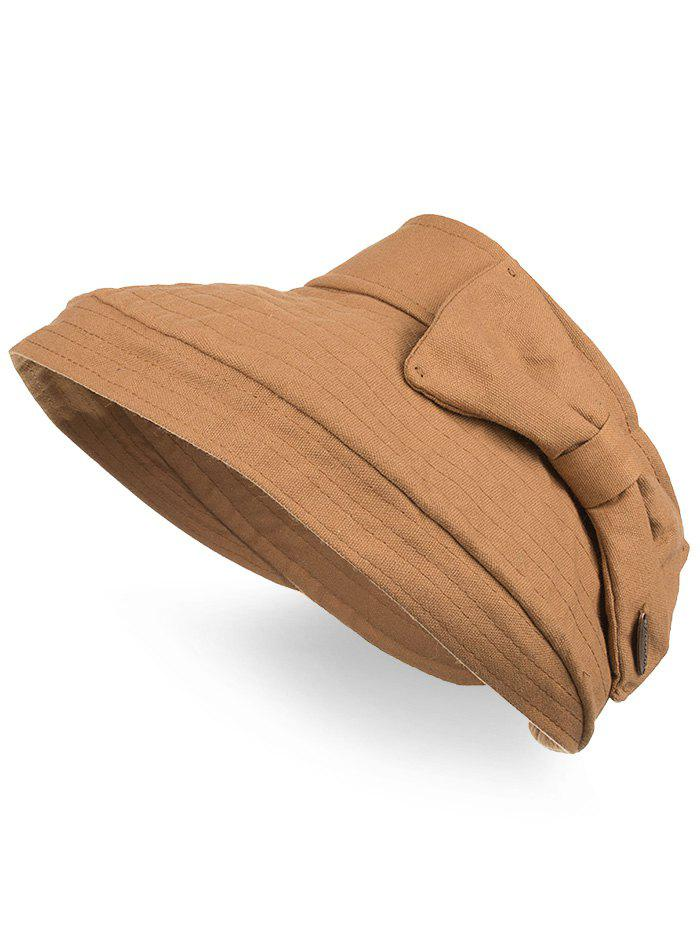 Discount Outdoor Bowknot Open Top Foldable Sun Hat